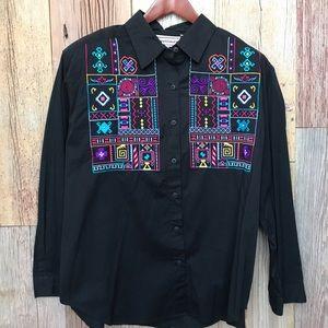 Westbound Embroidered Shirt 1X